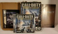 Call of Duty United Offensive Expansion Pack PC Windows Box Game 2004 Manual inc
