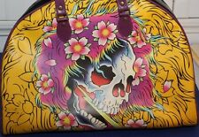ED HARDY SMALL OVERNIGHT BAG 16X12X5