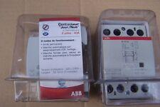 contacteur jour nuit ABB a fermeture 2 poles 40 amp EN40-20