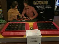 Logus Board Game by Ideal 1971 Complete with all Cards present ~ Rare