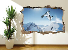 Wall sticker Mural Extreme sports snowboard photo wall mural (9326482) Snowboard