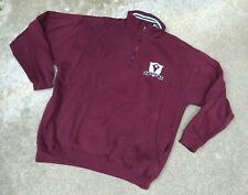 Red Cliff Trading Co Men's Vintage Golf 1/4 Zip Pullover Sweater   X-Large
