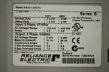 RELIANCE ELECTRIC GV6000  6V41-5P0TA  3 HP 480 VAC 1.003 Tested Good