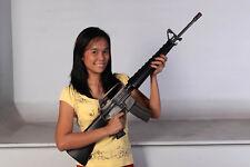 Replica M16A1 military rifle