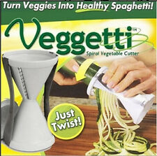 Veggetti Spiral Vegetable Slicer Spaghetti Pasta Maker Pasta Spiral Veggie Slice