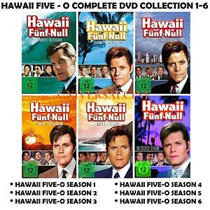 Hawaii 5 Five -O Seasons 1-6 Complete TV Series 1 2 3 4 5 6 NEW UK REGION 2 DVD