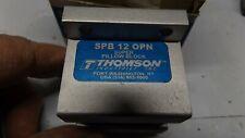 New THOMSON SPB 12 OPN Pillow Block Bushing / Bearing