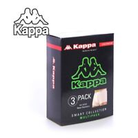Kappa 3-Pack Boxer Trunk Shorts Men's Cotton Pants Underwear Grey/Navy/Black