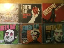 Green Day [6 CD Alben] Dookie + Bullet Bible + American Idiot + Uno + Dos  + Tre