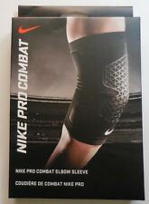 Nike Adult Unisex Pro Combat Elbow Sleeve Color Black/White Size L New
