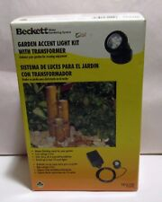 Beckett GARDEN ACCENT LIGHT KIT With TRANSFORMER - In Original Box - TR1LT10