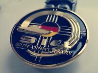 1.7l,1.8l,2.0l Porsche 914 grill badge emblem anniversary badge Porsche