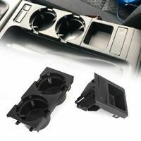 Portavasos Frontal Consola Central Soporte Bebidas Latas para BMW 3 Series E46,