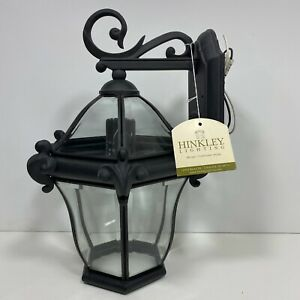 "Hinkley Lighting 2440MB San Clemente 14"" Black Wrought Iron Outdoor Wall Mount"