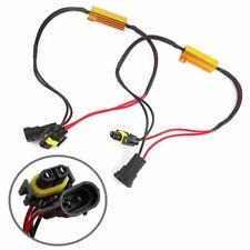 2X H8 H11 LED DRL Fog Light Canbus 50W Load Resistor Error Free Decoder Cancel