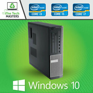 Dell Optiplex SFF/Desktop Intel Core i3/i5 4/8GB 250/500GB HDD Windows 10 Pro