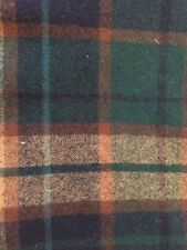 "Diane Gay 26"" x 51"" Piece Felted Plaid Wool Fabric for Wool Embroidery"