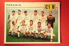 Panini Calciatori 1991/92 1991 1992 N 609 PERUGIA SQUADRA OTTIMO