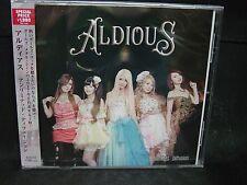 ALDIOUS Unlimited Diffusion JAPAN CD Galmet Layla  Raglaia Cyntia Show-Ya
