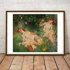 USA ART HOWARD CHANDLER CHRISTIE NUDE 36X24 INCHES