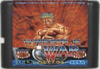 Wrestle War (1991) 16 Bit Game Card For Sega Genesis / Mega Drive System