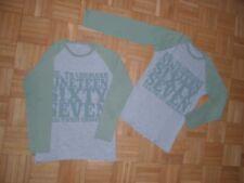 Gr.134/Gr.140 Langarmshirts 2x Zwillinge Bekleidungspaket Jungen,Skater Shirts