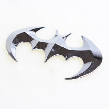 1x Car Auto SUV Off Road Tailgate Batman Silver Metal Emblem Sticker Badge Chic