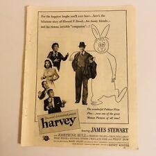 Feb '51 Silver Screen Magazine Full Page Ad Movie Harvey James Jimmy Stewart