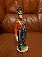 Kämmer Thüringen Porzellan Figur Militär - Officer 1850 -