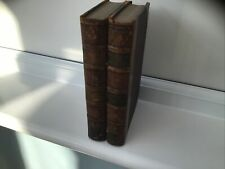 Antique Vintage Books: 2 Leather Bound, History Of England
