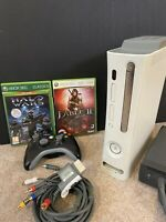 Xbox 360 60GB Bundle 2 Sealed Games Controller And Leads