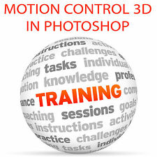 Motion control 3D in Photoshop e After Effects-Video formazione tutorial DVD