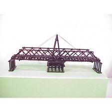 BRASS HO New From American Scale Models 105' Wood Half-Truss Swing Bridge F/P