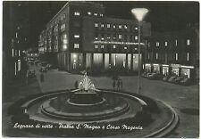 LEGNANO DI NOTTE - PIAZZA S.MAGNO E CORSO MAGENTA (MILANO) 1962