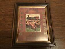 "Buffalo Nickel Framed ""The Way West"""