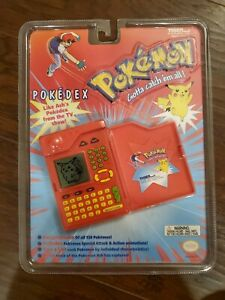 Sealed New Vintage 1999 Pokemon POKEDEX Encyclopedia Tiger Electronics RARE