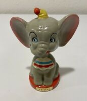 "Vintage Dumbo Elephant Walt Disney 5""1/4 Bobble Head Japan 1950 Chicago"