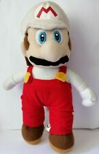 "RARE WHITE HAT Nintendo Super Mario Brothers Bros 8.5"" Plush Stuffed Soft Toy"