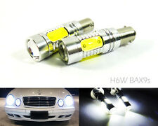 No Error BAX9s H6W LED FOR Mercedes C208 W210 DRL Daytime Running Parking Light