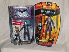 DC Comics Unlimited INJUSTICE JOKER & DARK KNIGHT JOKER(Ledger) Movie Masters