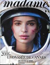 MADAME FIGARO NR.22313 06/05/2016 RATAJKOWSKI/ SPECIAL CANNES/ TAGLIONI/ FRÉMAUX