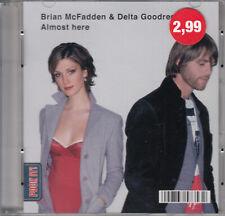 """Brian McFadden & Delta Goodrem - Almost Here (3"""") Mini Pock it CD 2004 Pop Rock"""