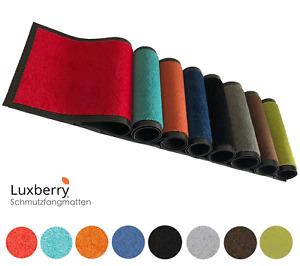 Premium Luxberry® Fußmatte Türmatte Fußabtreter Schmutzfangmatte Matte v. Größen