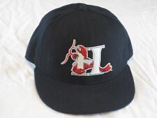 Vtg 90s New Era 5950 Hickory Crawdads MiLB Fitted Wool Hat Baseball Cap 7 1/8