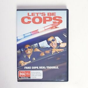 Lets Be Cops Movie DVD Free Postage Region 4 AUS - Cop Comedy