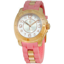 Tommy Hilfiger Silver Dial Pink Silicone Strap Ladies Watch 1781565
