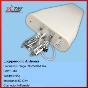 698-2700MHz Outdoor Log-periodic Antenna for 2G 3G 4G Signal Booster