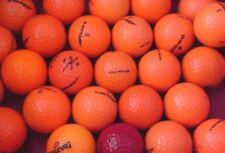 20 Orange Mixed Brands Golf Balls Pearl A Grade