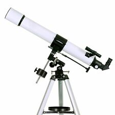 Astronomical Refractor Telescope 80mm+EQ Mount+2 Plossl Eyepieces