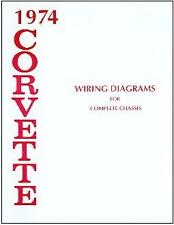 1974   74    CORVETTE WIRING DIAGRAM  MANUAL